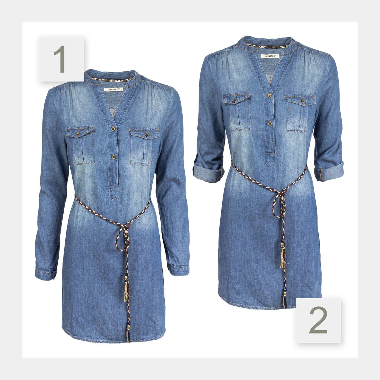 HAILY´S Damen Jeanskleid | Jeanskleid, Jeans kleid, Modestil