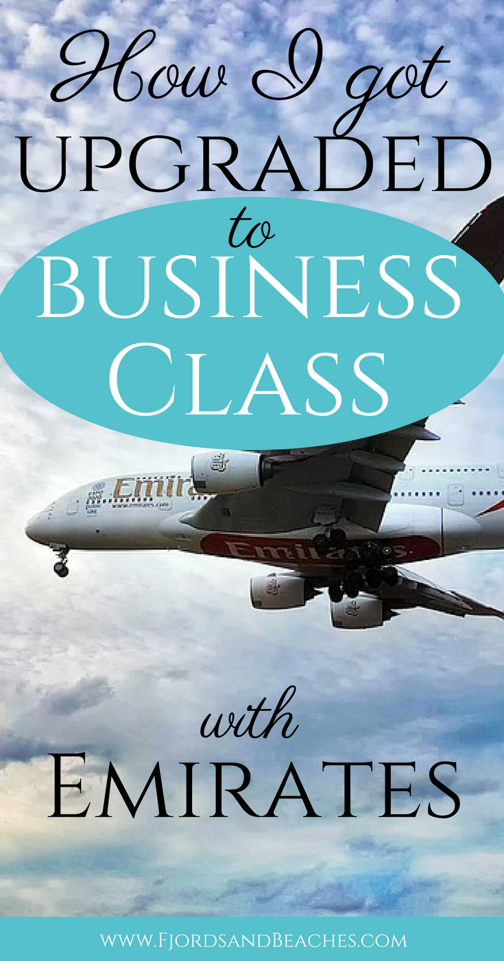 How I got upgraded to Business Class with Emirates, how to
