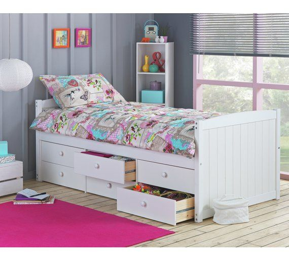 Small Box Room Cabin Bed For Grandma: Buy Collection Lennox 6 Drawer Cabin Bed