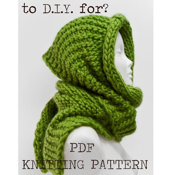Geometric scarf knitting pattern personalized christmas anniversary gift D.I.Y - instant digital download