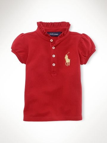 Big Pony Polo Shirt - Infant Girls Polos   Rugbys - Ralph Lauren France 8f6a224c5214