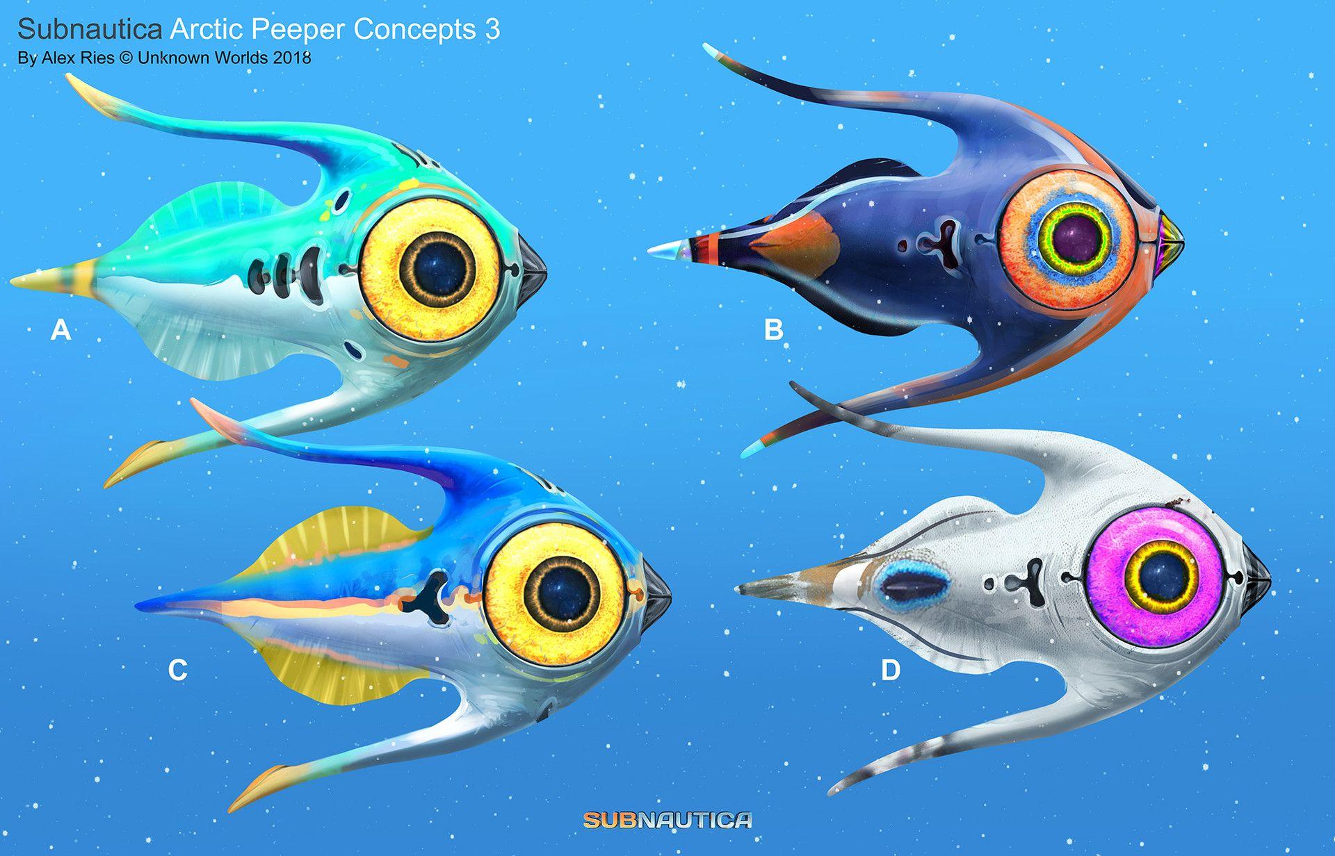 ArtStation - Subnautica - Below Zero: Arctic Peeper, Alex