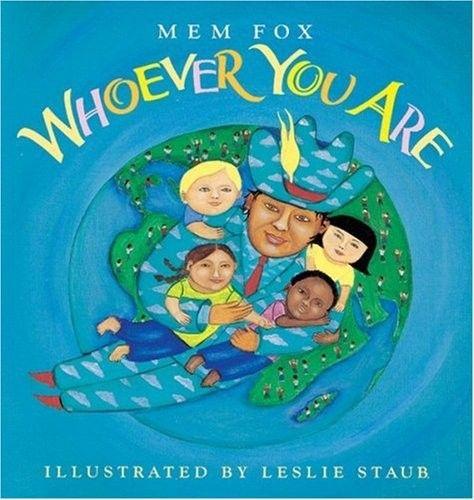"""""""Whoever You Are"""". Super sød børnebilledbog om børn fra hele verden, som er forskellige, men dog ens. Kan købes på Amazon.com. Se link herunder."""