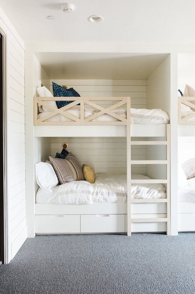 Inspired By Bunk Beds For A Guest Room The