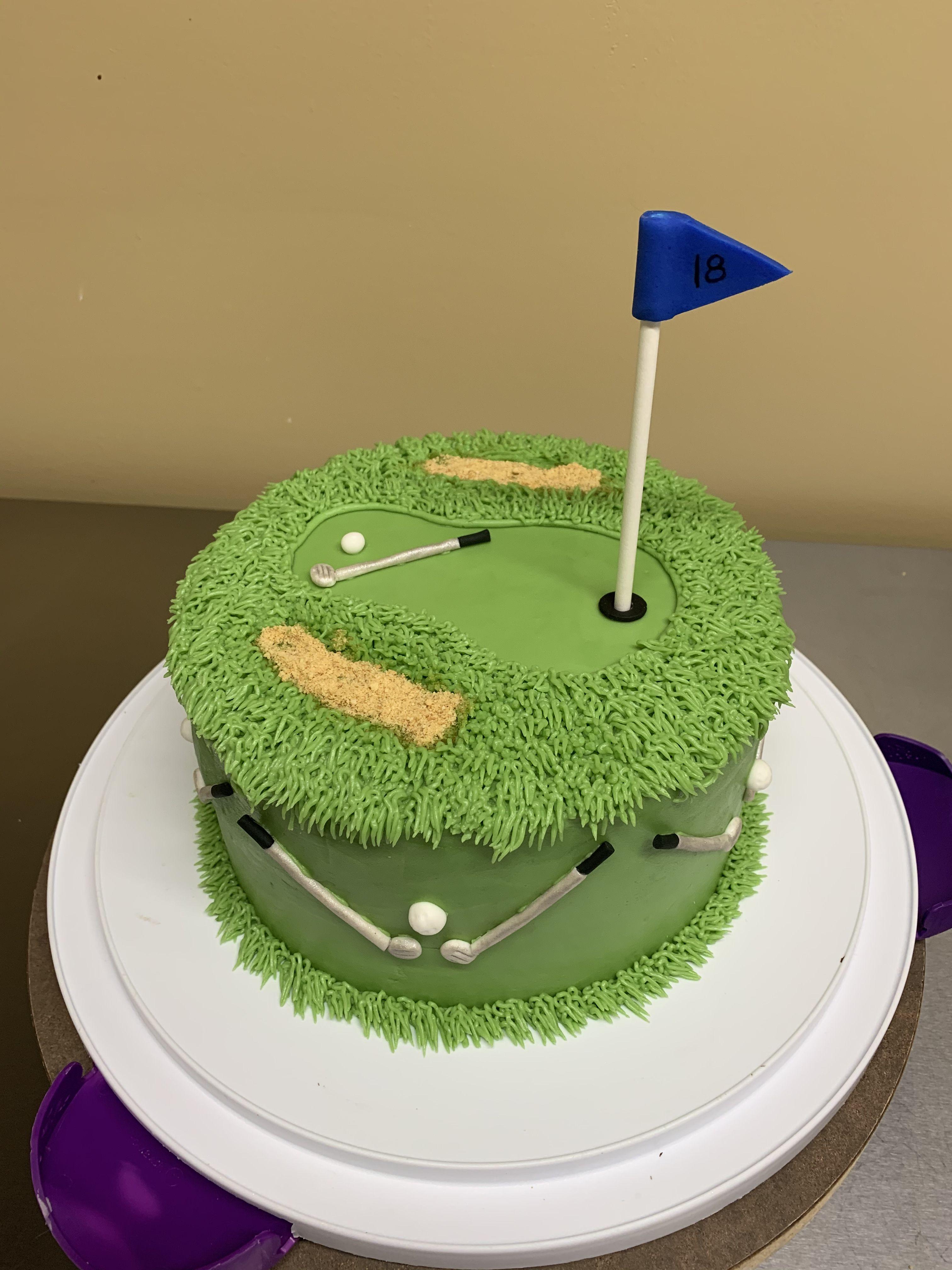 Golfer cake desserts city cake cake