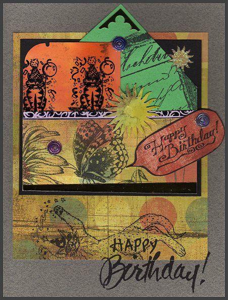 Birthday Collage - Art by CATlanta