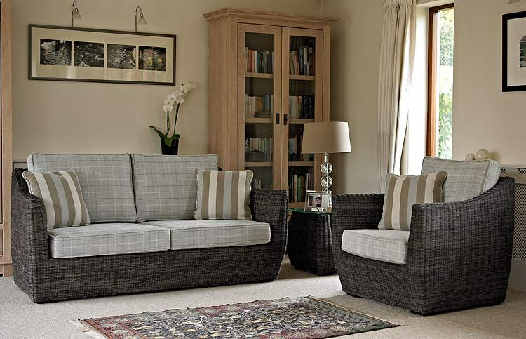 The Orchid Conservatory Furniture Is Woven From Two Tone Chocolate Coloured Rattan Although It