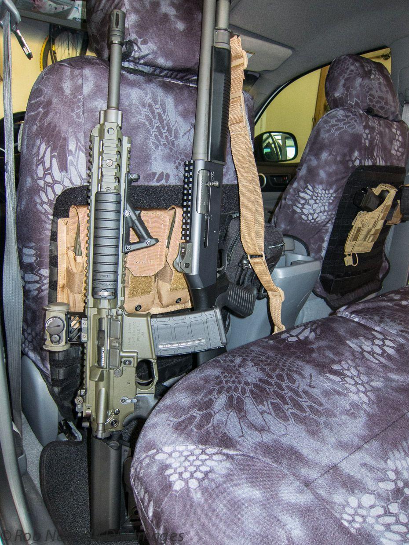 Tactical Tacoma Texas Edition Kryptek Custom Seat