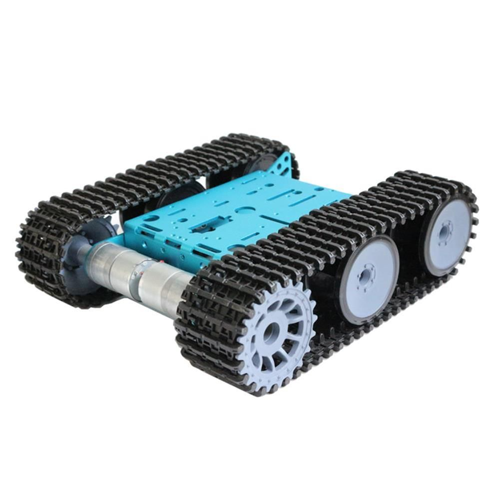 Diy Smart Rc Robot Car Metal Chassis Tracked Tank Chassis With