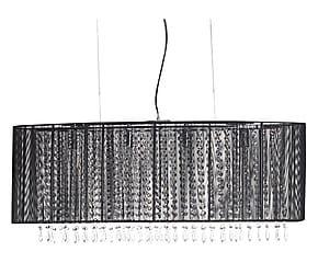 Lampadario in metallo e vetro Izaro - 91x40x25 cm