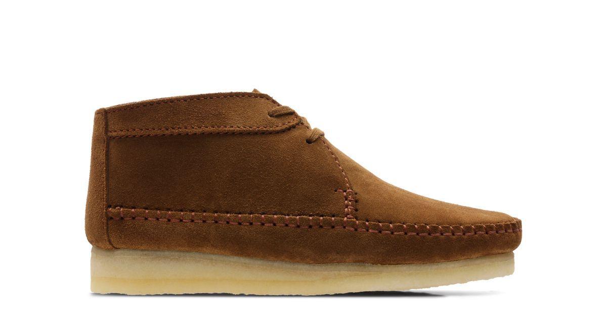 Weaver Boot Daim cola | Clarks | Clarks, Mocassin et Daim