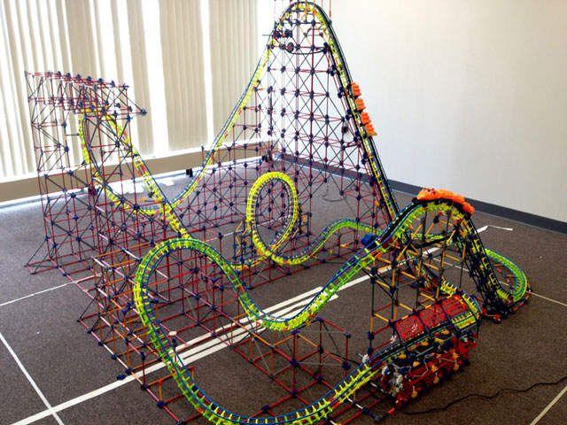 Michigan School S K Nex Roller Coaster To Be On Display In