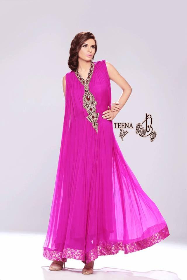 Summer Party Wear Dresses for LadiesTeena by Hina Butt | Raj Rane ...