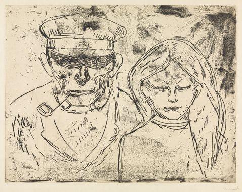 Fiskeren og hans datter [Grafikk]