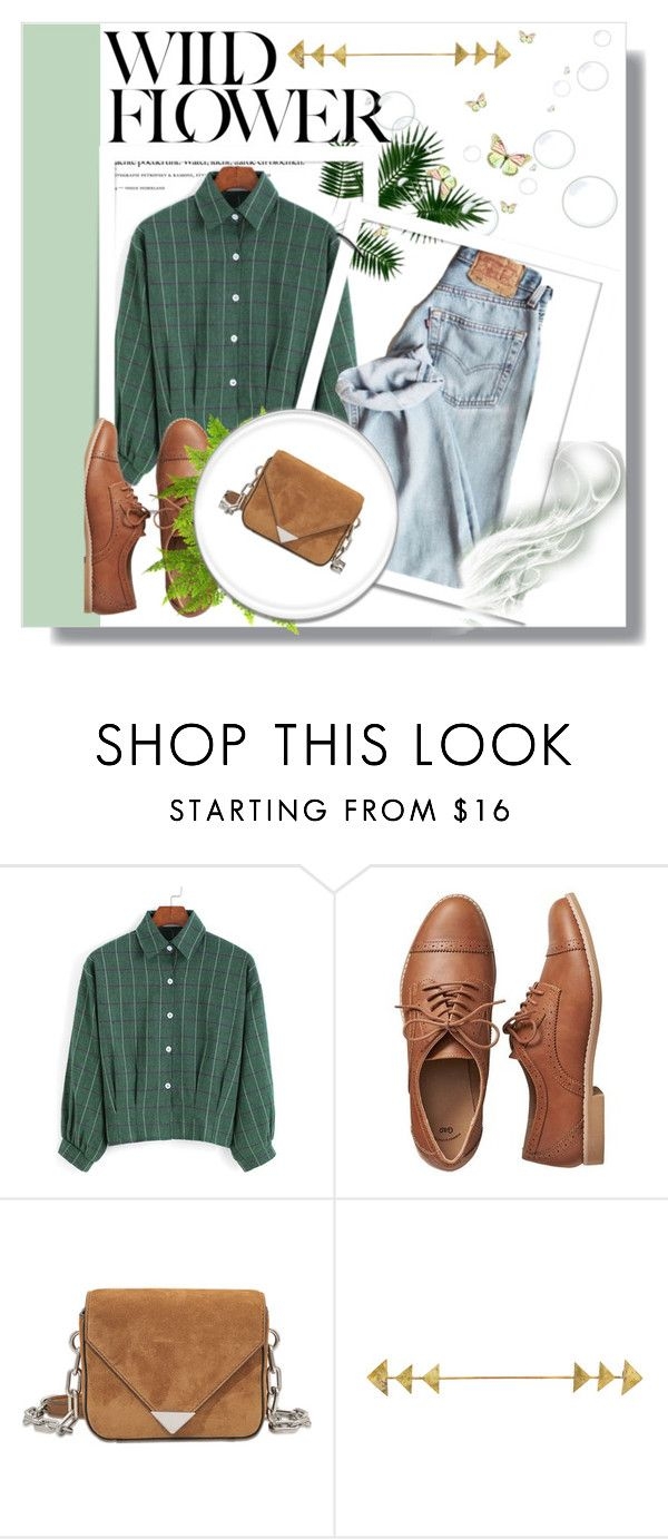 """Untitled #57"" by violin-player-12 ❤ liked on Polyvore featuring Gap, Alexander Wang, GREEN and DenimStyle"