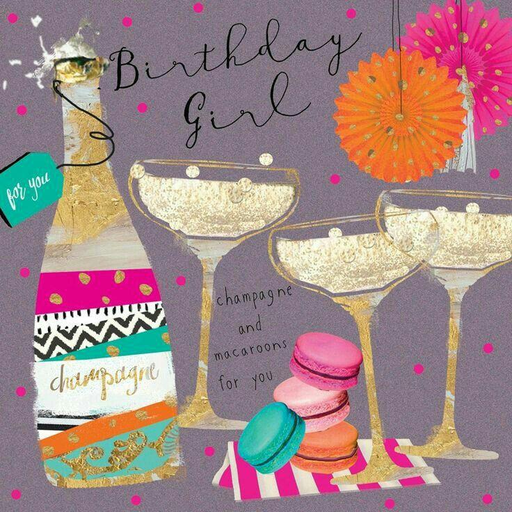 birthday girl Happy birthday drinks, Happy birthday