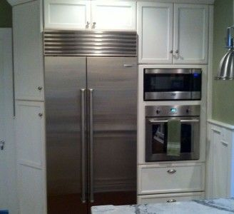 refrigerator wall oven   Wall Units   Pinterest   Wall ovens ...
