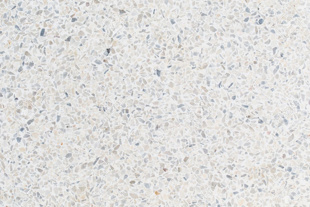 Black And White Terrazzo Floor