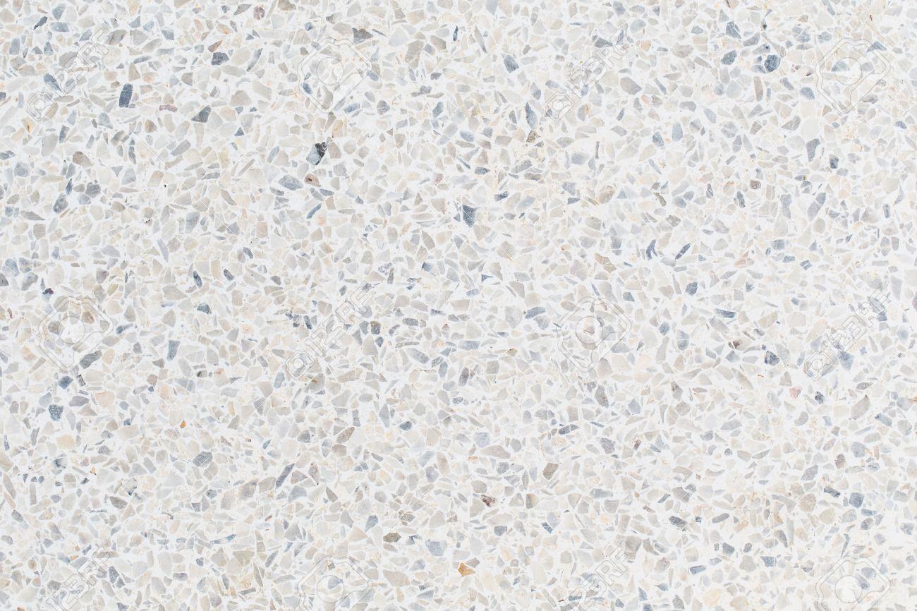 Black And White Terrazzo Floor