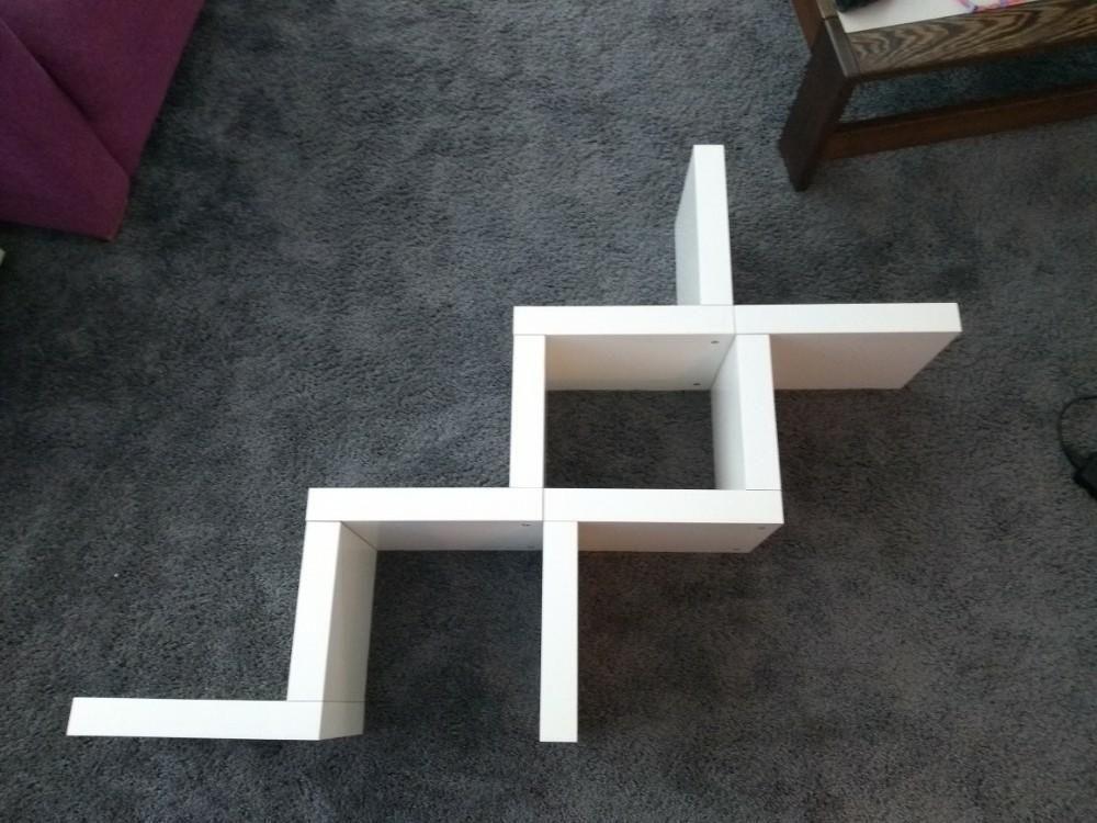 Ikea Boekenplank Zigzag.Wandplank Lack Ikea Zigzag Woonaccessoires
