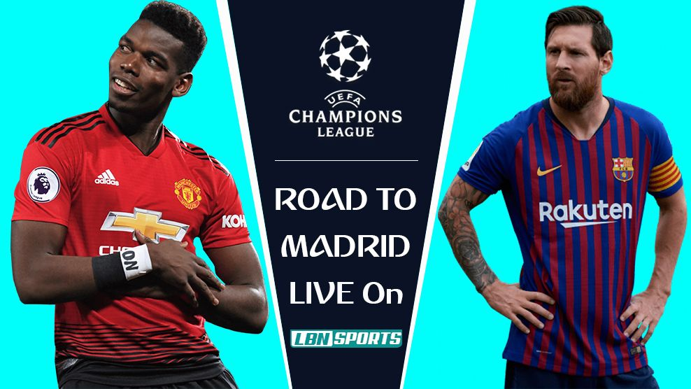 Barcelona vs Man United Champions League QuarterFinal 10