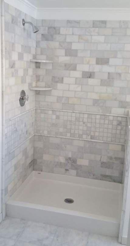 33 Trendy Basement Bathroom Ideas: Trendy Bath Tiles Surround Shelves 44+ Ideas #bath