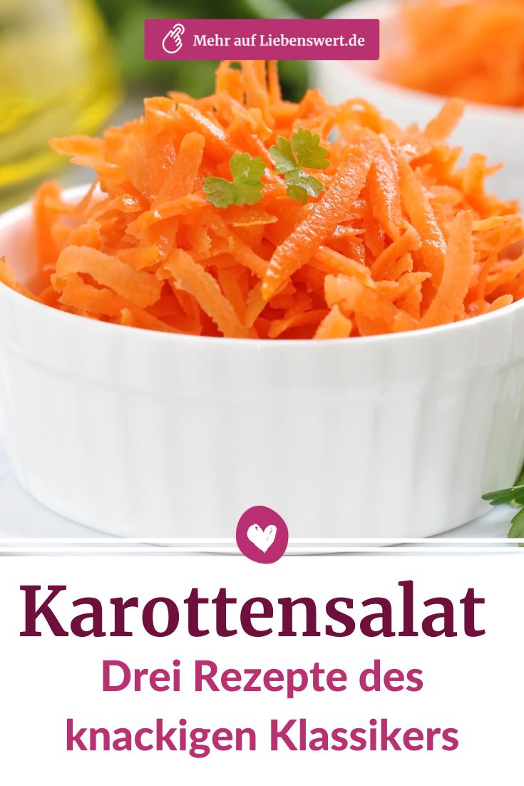 Karottensalat: Drei Rezepte des knackigen Klassikers
