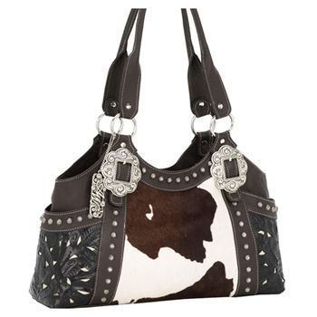 Every Cow Needs Accessories With Print American West Prairie Rose Western Purse Pin2win