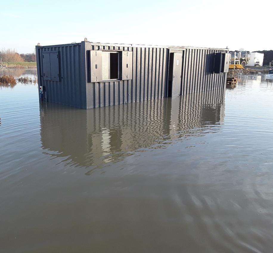 Heavy rain hits another major civils job Civil