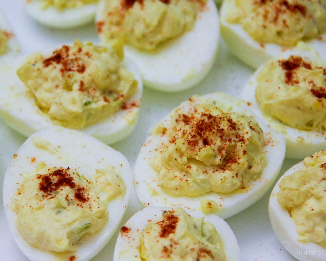 Cannabis Deviled Eggs | EatYourCannabis.com #eggs #cannabis #infused # ...