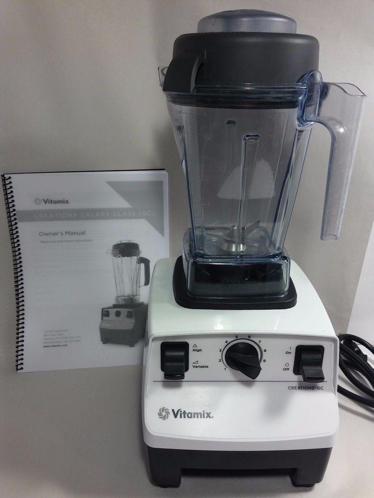 vintage vitamix vita mix 2200 sidewinder chrome kitchen commercial rh pinterest com