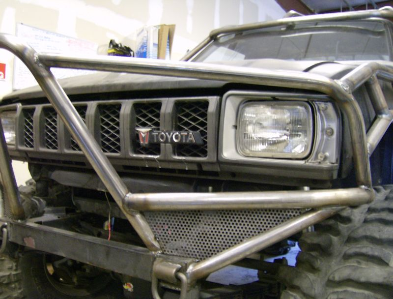 Toyota love custom built roll cage by fxp flex point off - Interior roll cage for toyota pickup ...