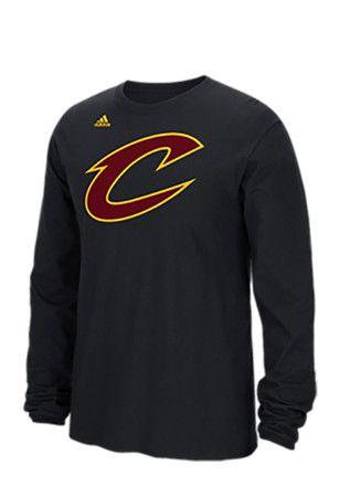 size 40 f540b 5913d Adidas Cleveland Cavaliers Mens Black Cavs Pride Tee | NBA ...