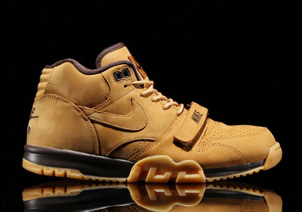 nike air trainer 1 mid prm qs wheat the swoosh pinterest