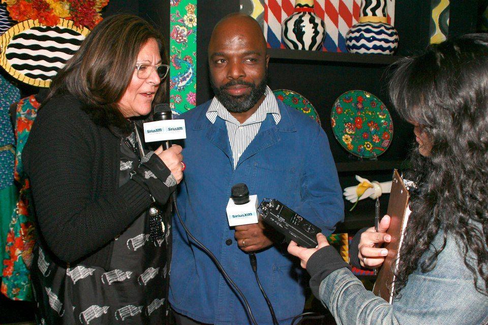 Fern Mallis and Duro Olowu let their voices be heard during #NYFW! #DuroforJCP