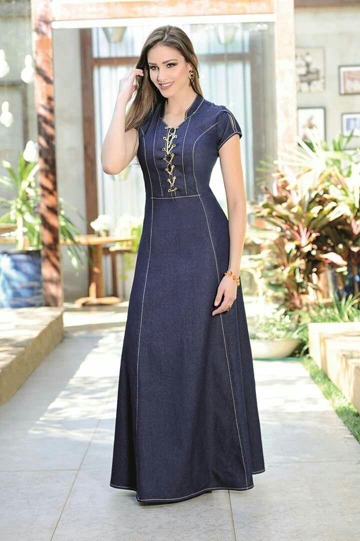 Vestido jeans Más 0402d096fa91