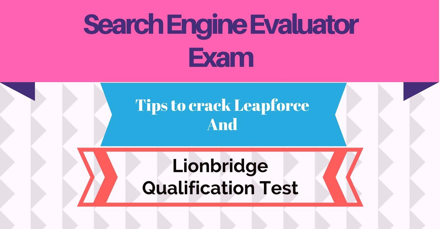 6d278238ddf59e76f67b53502a8d956e - Lionbridge Social Media Evaluator Application