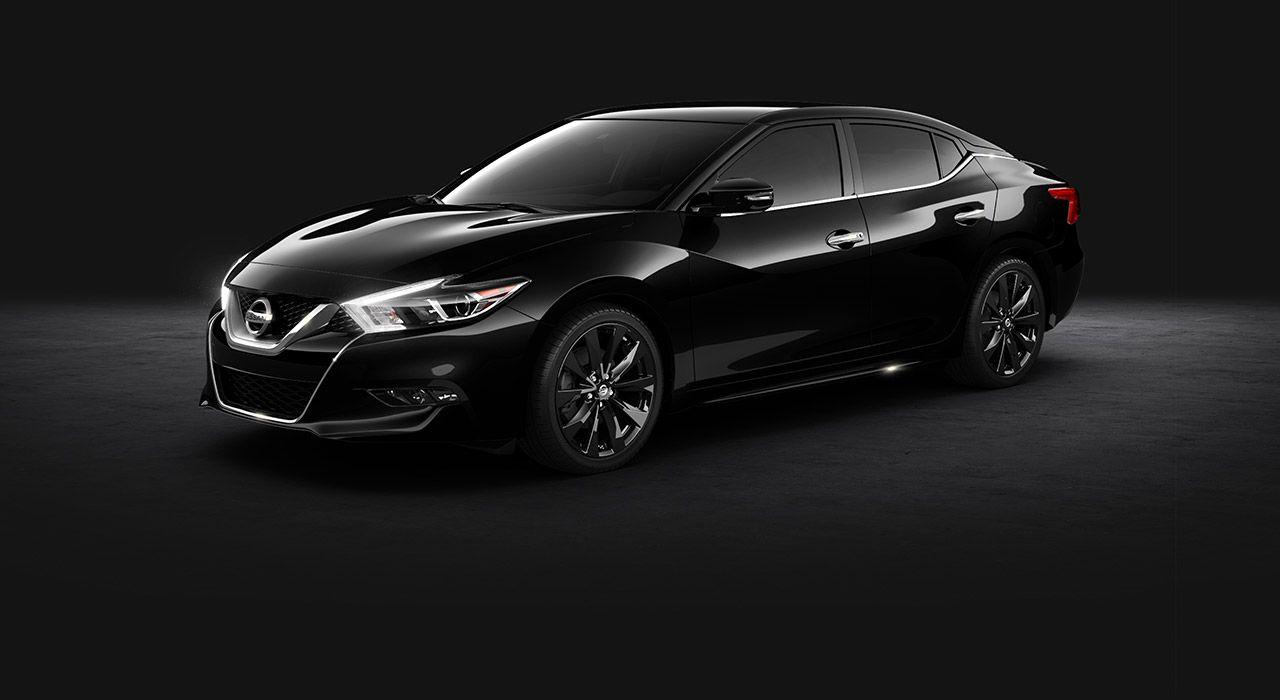 2017 Nissan Maxima Sr Midnight Edition Black Aluminum Alloy Wheels