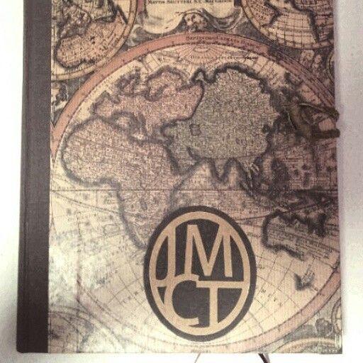 Libro de aventuras. Encuadernación artesanal de Taller 35.