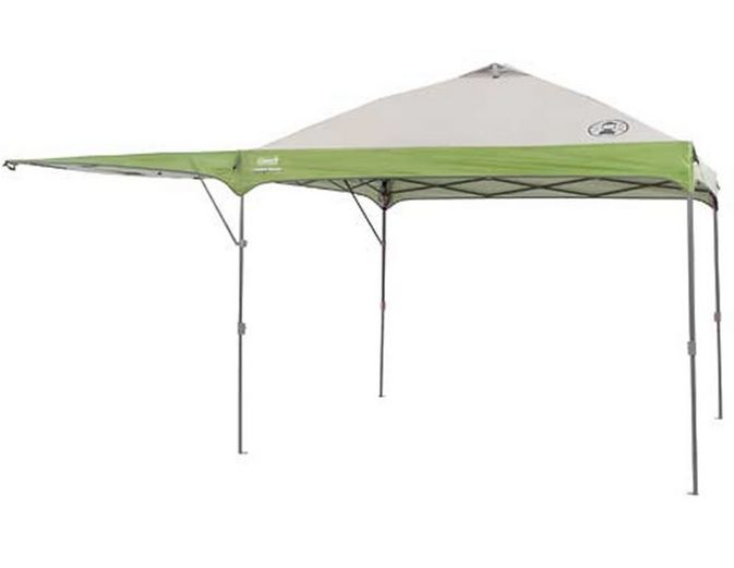 Coleman Instant Canopy 10 Ft X 10 Ft W Swingwall Instant
