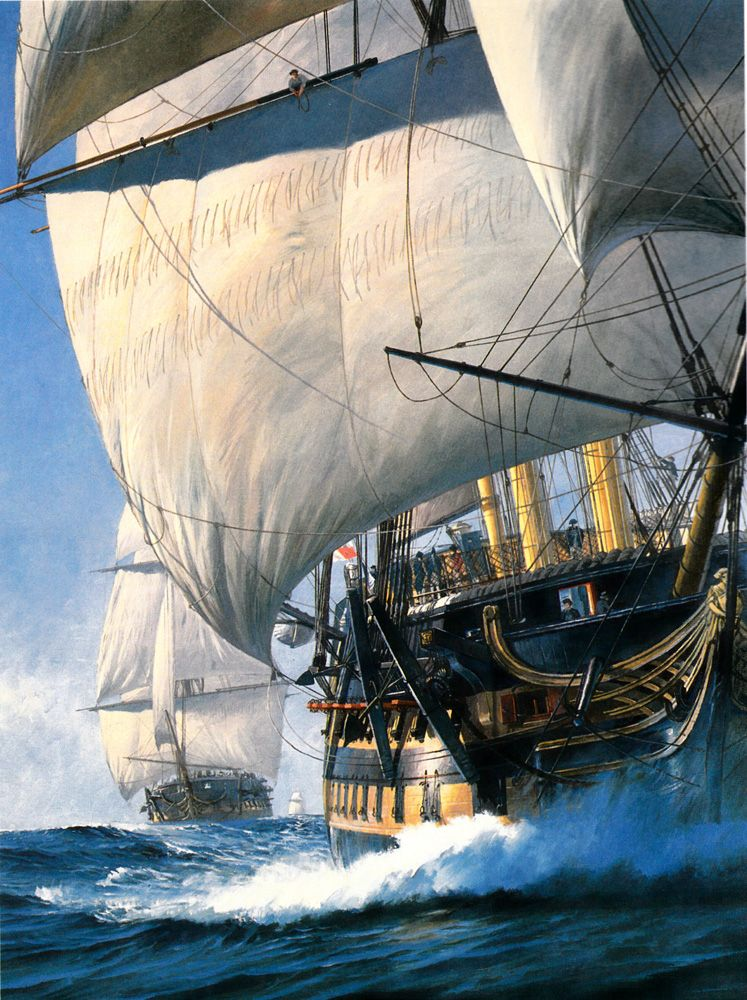 Geoff Hunt - The Ionian Mission - Scrimshaw Gallery | Sailing, Old sailing  ships, Sailing ships