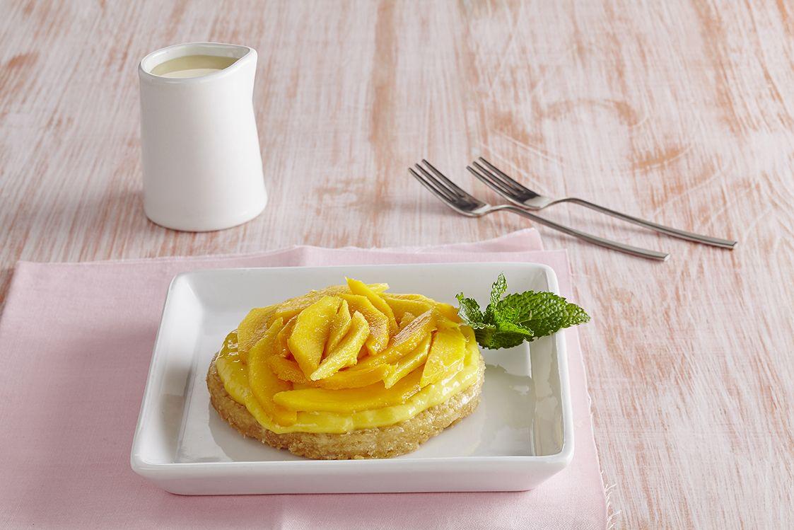 Tartaleta de mango