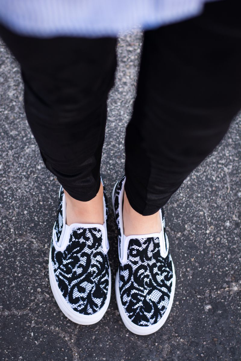Looks - DIY Customized Tutorial: Slip-On Sneakers video