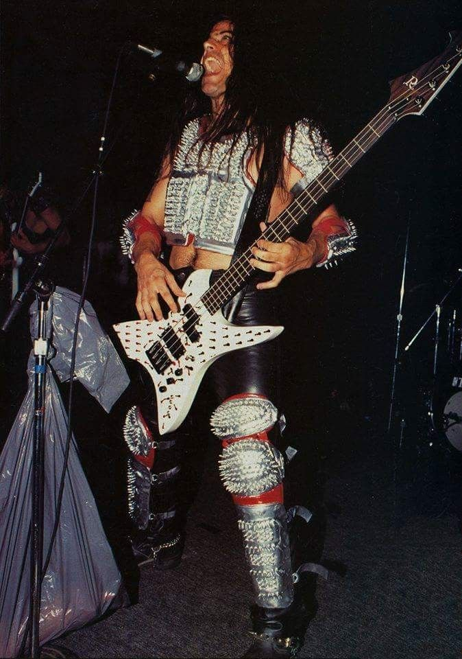 Glen Benton and his thot repelling armour | Deicide ...