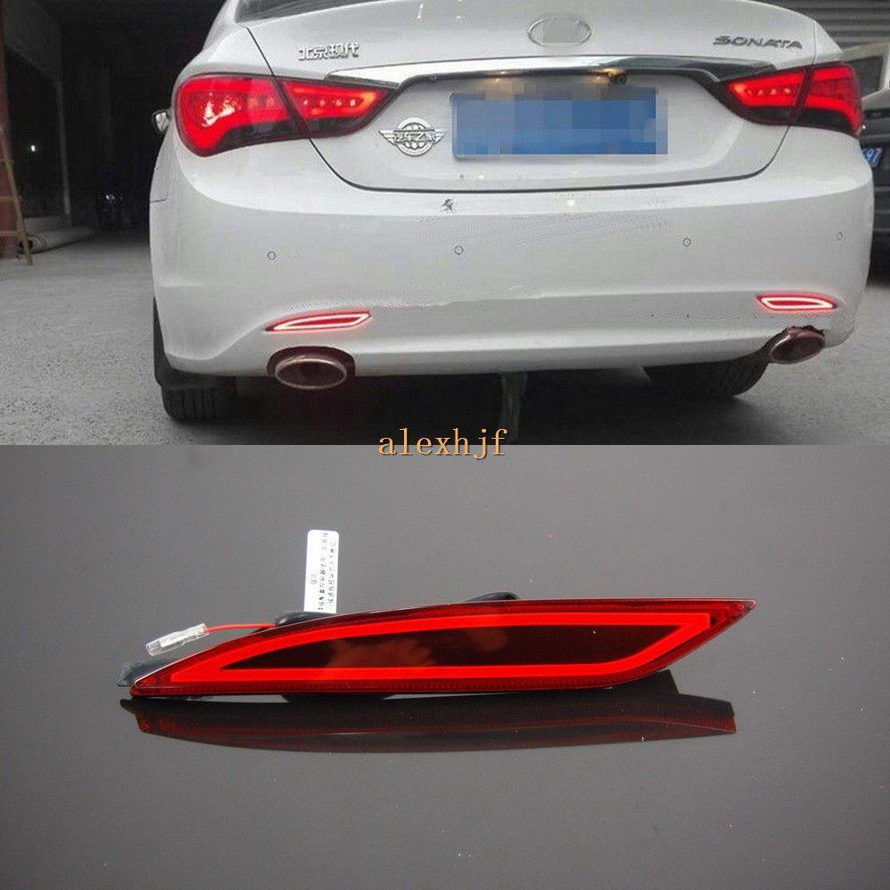 Varthion LED Light Guide Brake Lights Case For Hyundai Sonata 8th  2011~2014, Brake