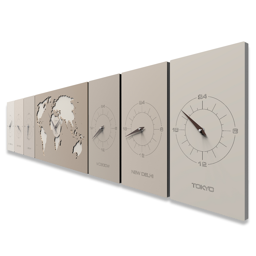 Time zone wall clock Cosmo Office gadgets Pinterest Time zones