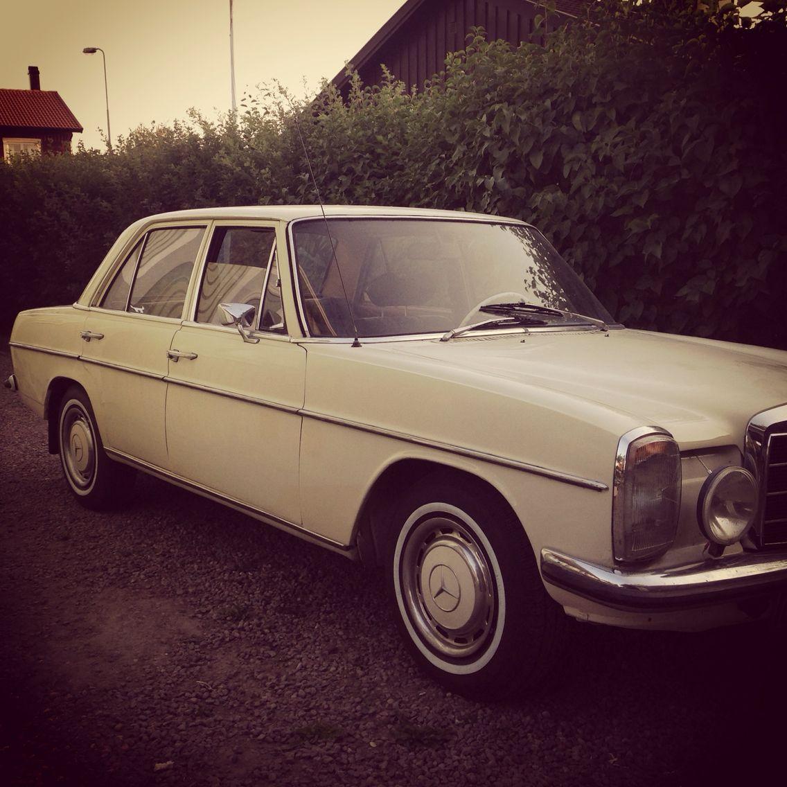 tal till pappa 70 år Min MB Compakt (Mercedes 220D  68). Pappa ägde en likadan på 70  tal till pappa 70 år