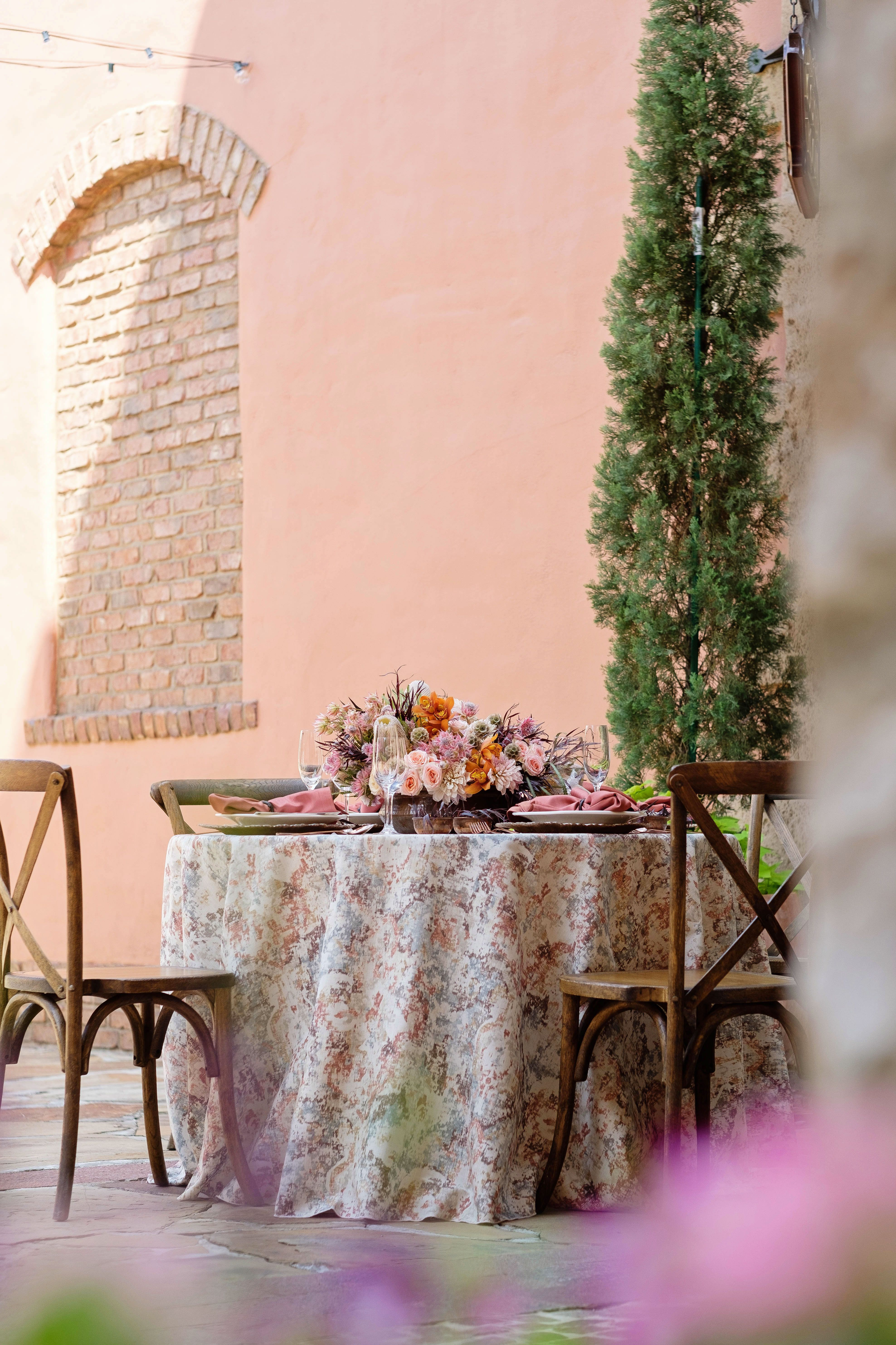 Charming Italian Wedding Inspiration Tuscan Table Italian