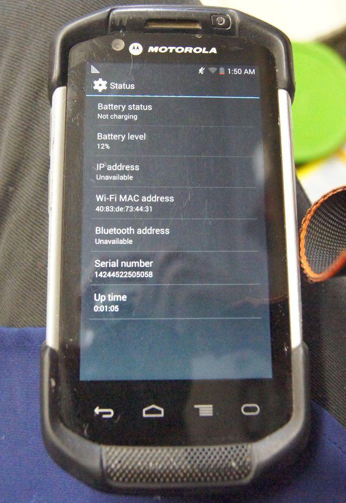 Motorola Serial Number