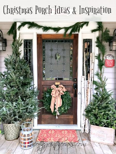 Cottage Christmas Front Porch Ideas Christmas Porch Cottage